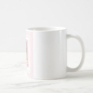 モノグラムのマグ コーヒーマグカップ