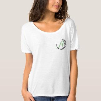 モノグラムのリース Tシャツ