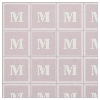 モノグラムのローズクォーツは縞で飾ります ファブリック