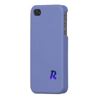 モノグラムの場合のiPhone 4の無光沢の終わりの場合 iPhone 4/4Sケース