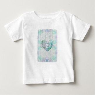 モノグラムの多色刷りのカスタムなベビープロダクト ベビーTシャツ