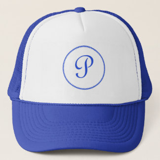 モノグラムの手紙Pの帽子/帽子/野球帽 キャップ