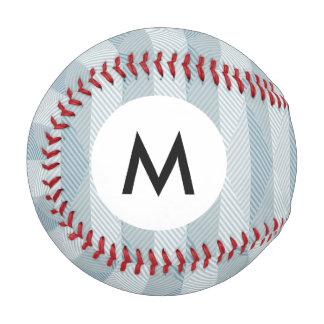 モノグラムの抽象的な民族のベクトル背景 野球ボール
