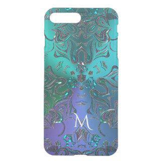 モノグラムの曼荼羅の宇宙のファンタジーの衣裳 iPhone 8 PLUS/7 PLUS ケース