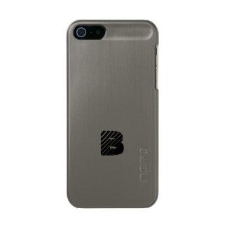 モノグラムの砲金の終わりのiPhoneの場合 メタリックiPhone SE/5/5sケース