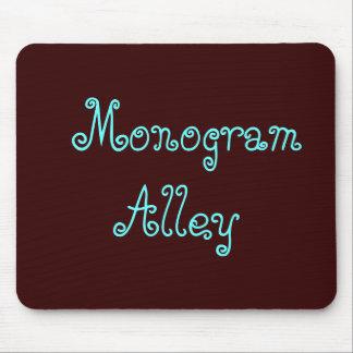 モノグラムの細道 マウスパッド