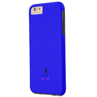 モノグラムの贅沢で青いiPhone 6のプラスの場合 Tough iPhone 6 Plus ケース