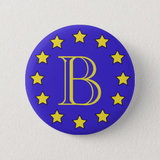 モノグラムのBrexitのカスタマイズ可能なバッジ 缶バッジ