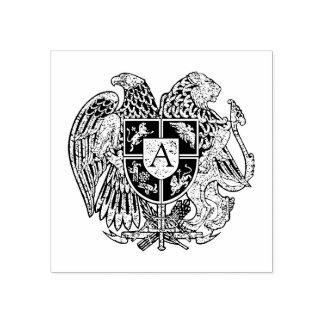 モノグラムアルメニアの紋章付き外衣 ラバースタンプ