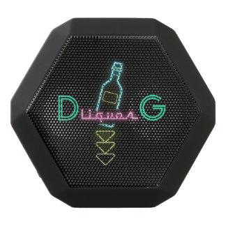 モノグラムシリーズ: アルコール飲料のネオンサイン ブラックBluetoothスピーカー