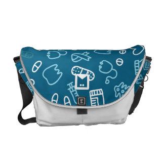 モノグラムシリーズ: 医者および看護婦のため メッセンジャーバッグ