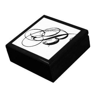 モノグラム最初のBのギフト用の箱 ギフトボックス
