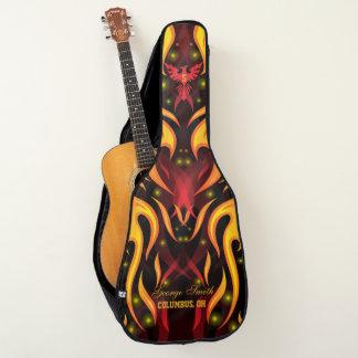 モノグラム。 フェニックス。 灰からの上昇。 習慣 ギターケース