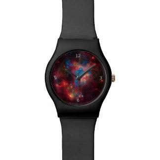 モノグラム、星Superbubbleの大きいMagellanic雲 腕時計