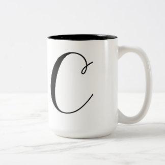 モノグラムC ツートーンマグカップ