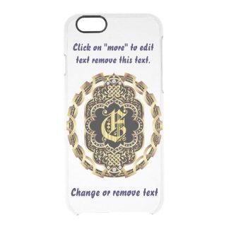 モノグラムEのiPhone 5/5s及び6-6プラスのディフレクターの箱 クリアiPhone 6/6Sケース