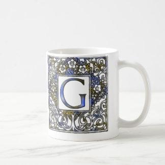 モノグラムG コーヒーマグカップ