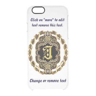 モノグラムJのiPhone 5/5s及び6-6プラスのディフレクターの箱 クリアiPhone 6/6Sケース