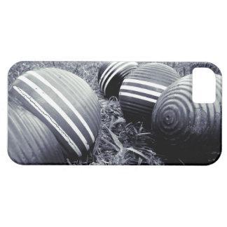 モノトーンのなCroquet球- iPhone SE/5/5s ケース