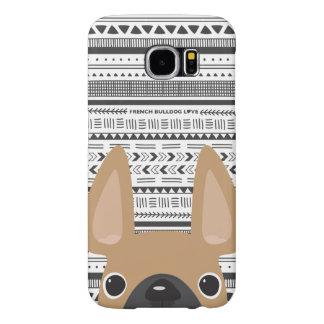 モノラルフレンチ・ブルドッグ愛Geoの場合の子鹿 Samsung Galaxy S6 ケース