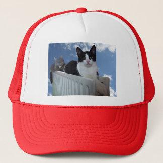 モノレール猫-ラジエーターの版野球帽 キャップ