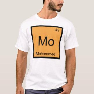 モハメッド一流化学要素の周期表 Tシャツ