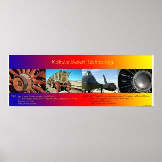 モハーベ砂漠の技術 ポスター