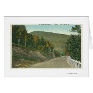 モヒカンの道の眺め カード