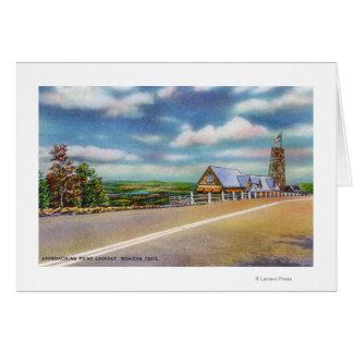 モヒカンの道接近ポイント眺望場面 カード