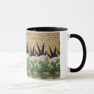 モホーク族の人の火星人のマグ マグカップ