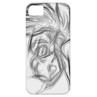 モホーク族の人猿の電話箱 iPhone SE/5/5s ケース