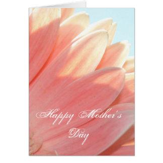 モモおよびクリーム幸せな母の日 カード