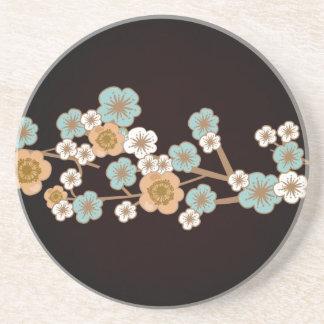 モモおよび青い桜のコースター コースター