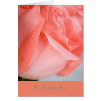モモが付いている悔やみや弔慰の挨拶状は上がりました カード