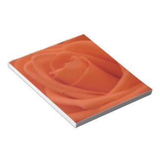 モモのばら色の花のイメージ- 40ページのメモ帳 ノートパッド