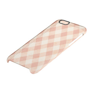 モモのクリーム色の道化師のClearly™のディフレクターの箱 クリアiPhone 6/6Sケース