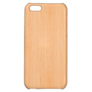 モモのタケ木製の穀物の一見 iPhone 5C CASE