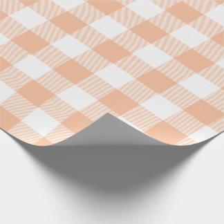 モモのバッファローの点検パターン ラッピングペーパー