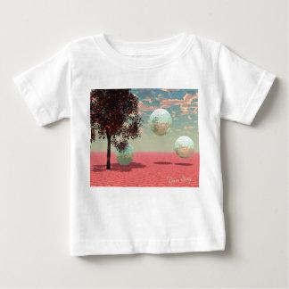 モモのファンタジー-ティール(緑がかった色)および杏子の退去 ベビーTシャツ