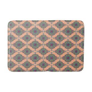 モモのヴィンテージのモロッコパターン バスマット
