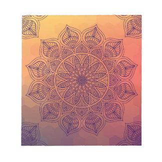 モモの曼荼羅 ノートパッド