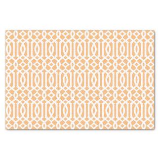 モモの格子垣|のティッシュペーパー 薄葉紙
