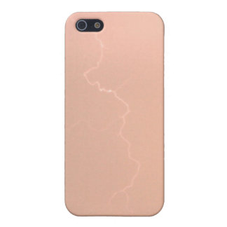 モモの稲妻Iphone4/4s Speckの場合 iPhone 5 ケース