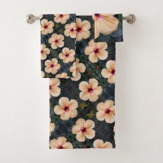 モモの花タオルセット バスタオルセット