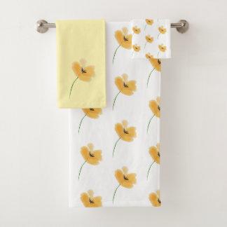 モモの花弁タオルセット バスタオルセット