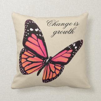 モモの蝶装飾用クッション クッション