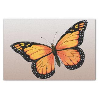 モモのOmbreの蝶 薄葉紙