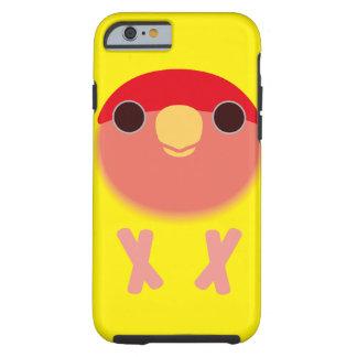 モモ顔の仲の良い恋人同士(Lutino) iPhone 6 タフケース