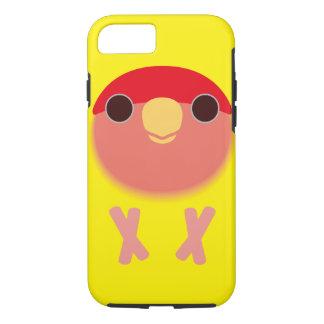 モモ顔の仲の良い恋人同士(Lutino) iPhone 7ケース