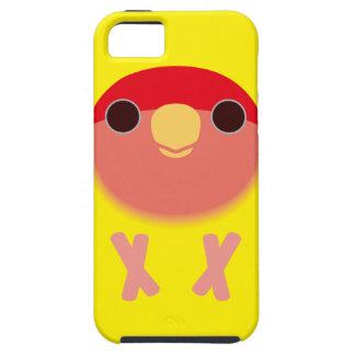 モモ顔の仲の良い恋人同士(Lutino) iPhone SE/5/5s ケース